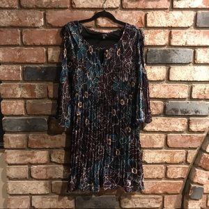 SPENSE long sleeved cutout dress